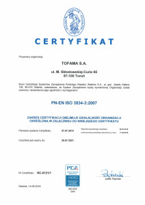 CERT 3834 PL-1